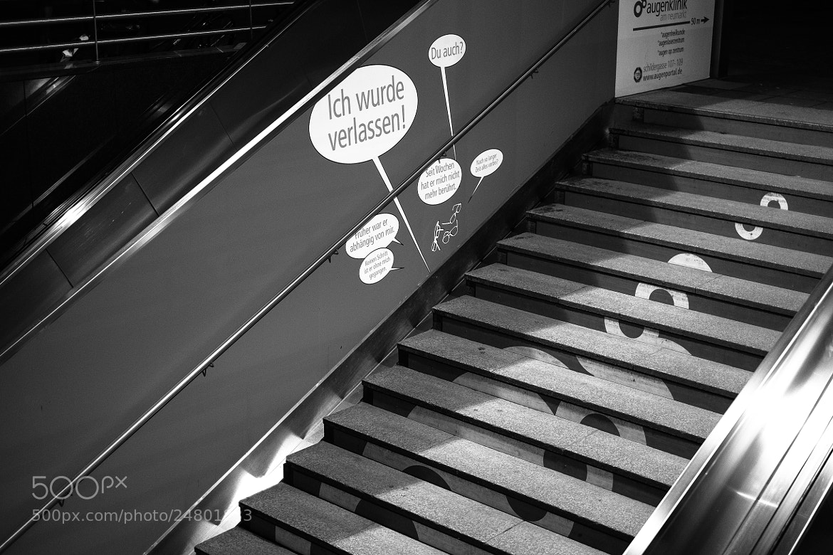 Photograph Stairs by David Hellmann on 500px