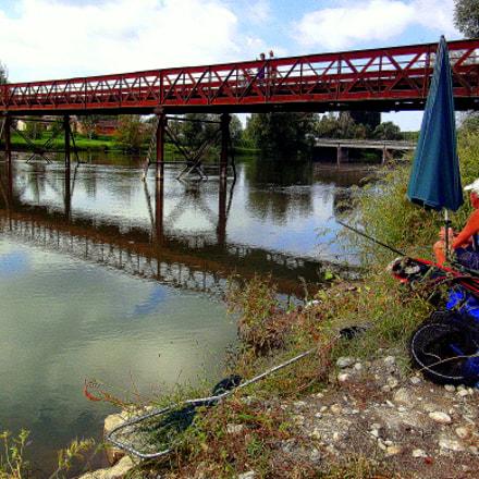 Il paesaggio, il fiume, Fujifilm FinePix JX250