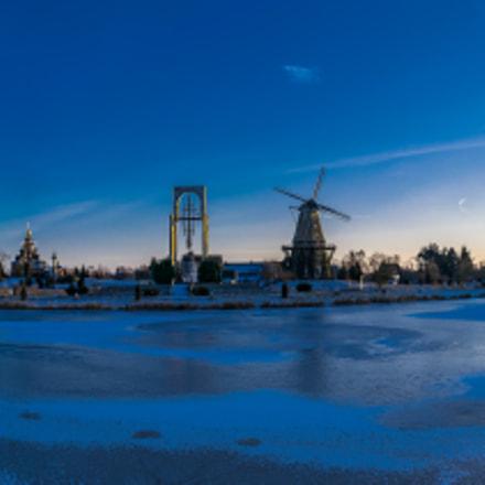Mühlensee im Winter!