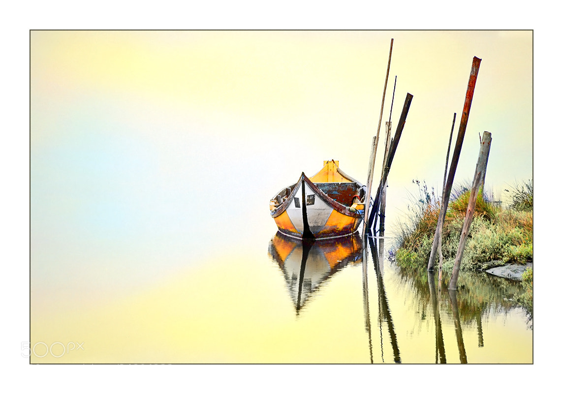 Photograph Yellow Boat by António Marciano on 500px