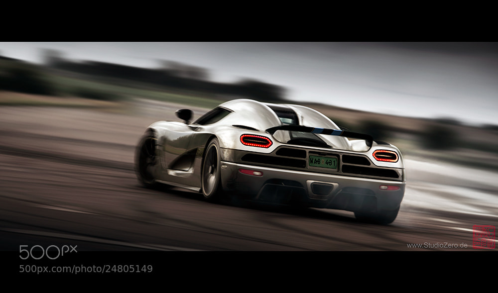 Photograph Koenigsegg Agera by Hide Ishiura StudioZero.de on 500px