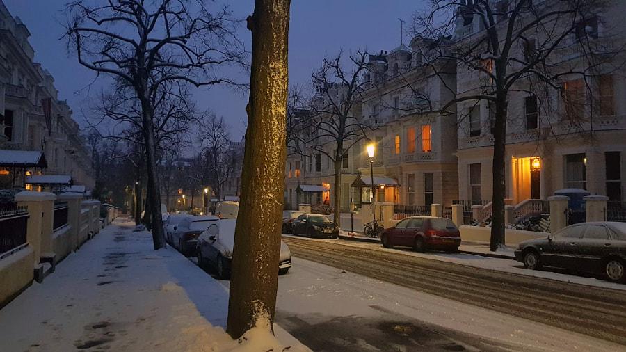 Winter Night, London by Sandra on 500px.com