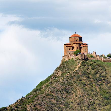 Georgia. Jvari monastery, Canon EOS 550D, Sigma 50-200mm f/4-5.6 DC OS HSM