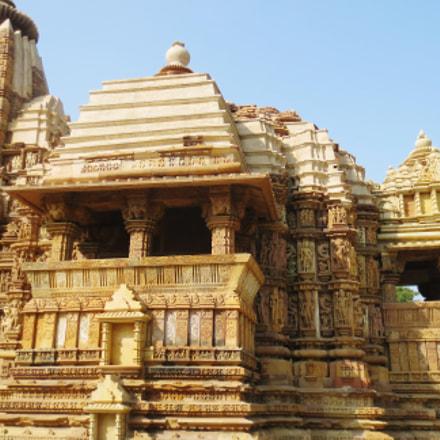 Khajuraho Temple, Canon IXUS 125 HS
