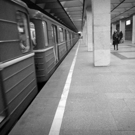 Moscow metro subway, Panasonic DMC-FX500