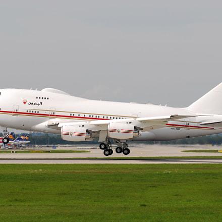 Bahrein Royal Flight Boeing, Nikon D200, Sigma APO 100-300mm F4 EX IF HSM