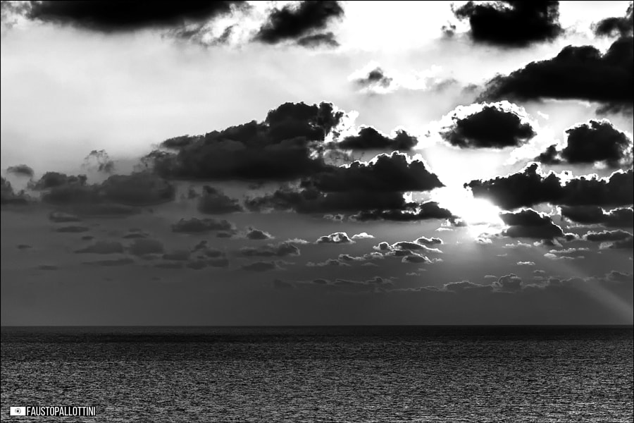 """"""" The sun is always behind the clouds """", автор — Fausto Pallottini на 500px.com"""