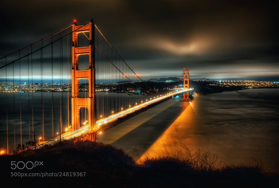 The Golden Gate by Marc Perrella (marcperrella)) on 500px.com