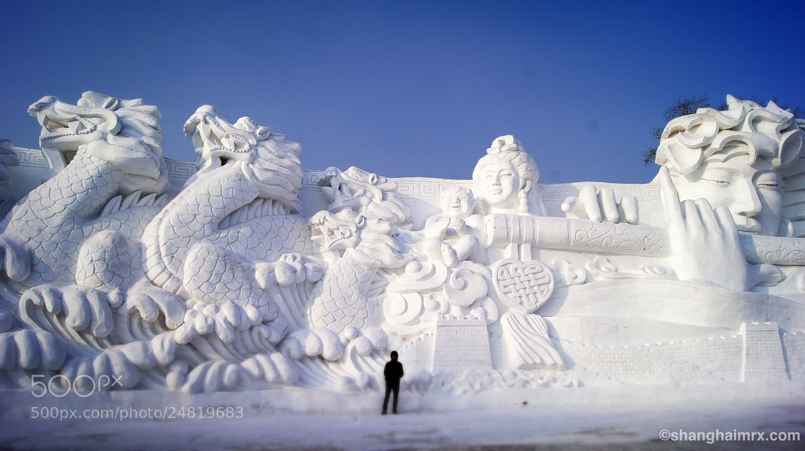 Photograph Harbin Snow World by ShangHai Mr. X on 500px