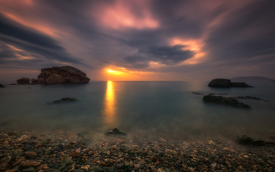 The last light by Apostolos Aginaris on 500px.com