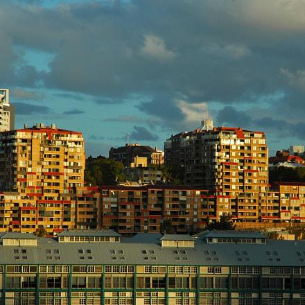 Late Evening Lights, Nikon D70, AF-S DX Zoom-Nikkor 18-70mm f/3.5-4.5G IF-ED