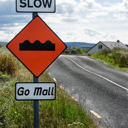 Ireland road, Nikon E5200