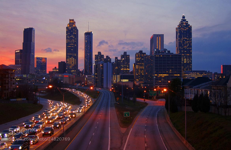 Photograph One Way Rush / Atlanta by Aric Jaye on 500px