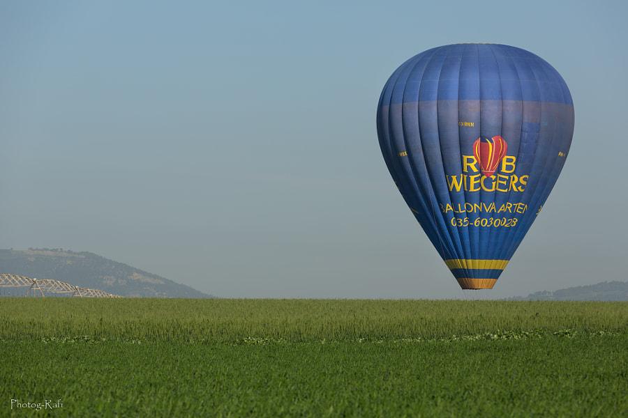 Basketless hot air baloon