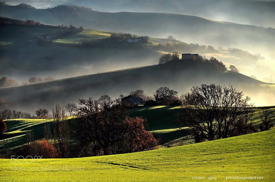 Photograph Montefeltro's land by Giuliano Mangani on 500px
