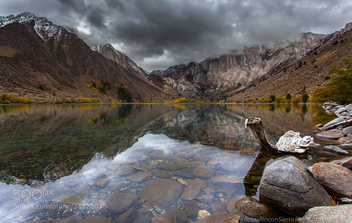 Photograph Storm Over Convict Lake!!! by Jim Ross on 500px