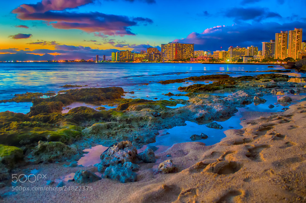 Photograph Footsteps to Waikiki by Jake Hyatt on 500px