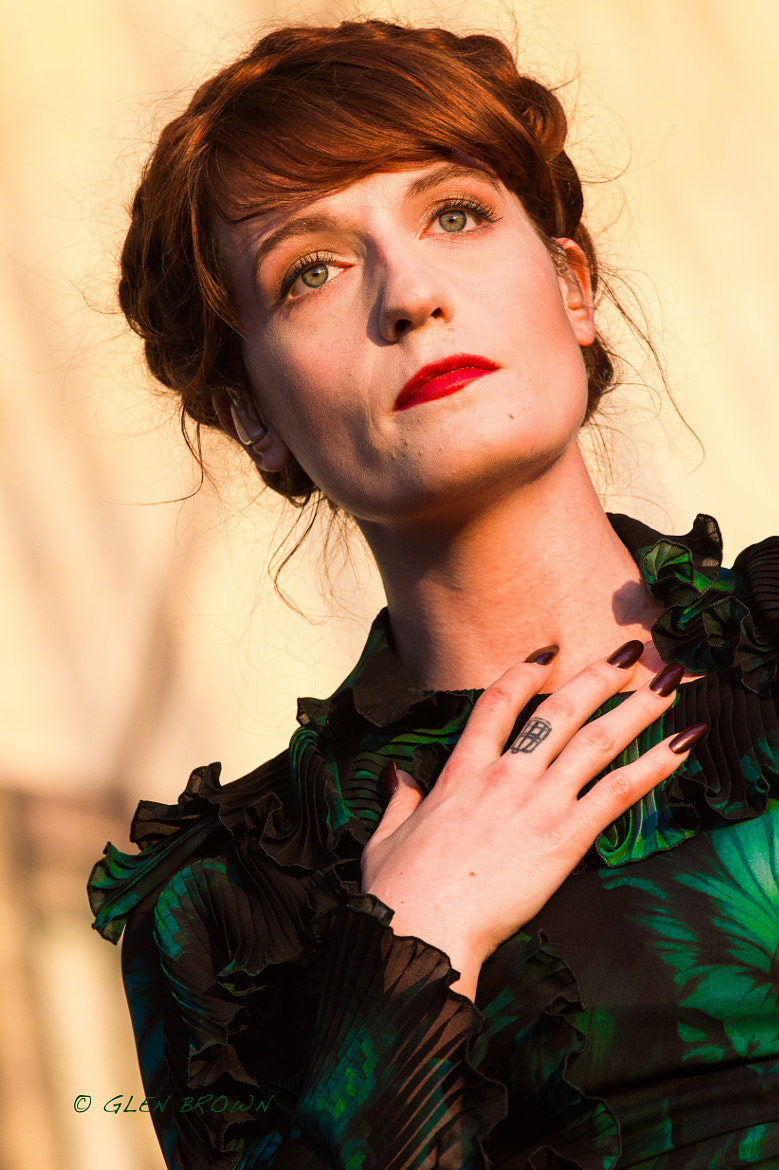 Photograph Florence Welch - Florence and The Machine by GLEN BROWN on 500px