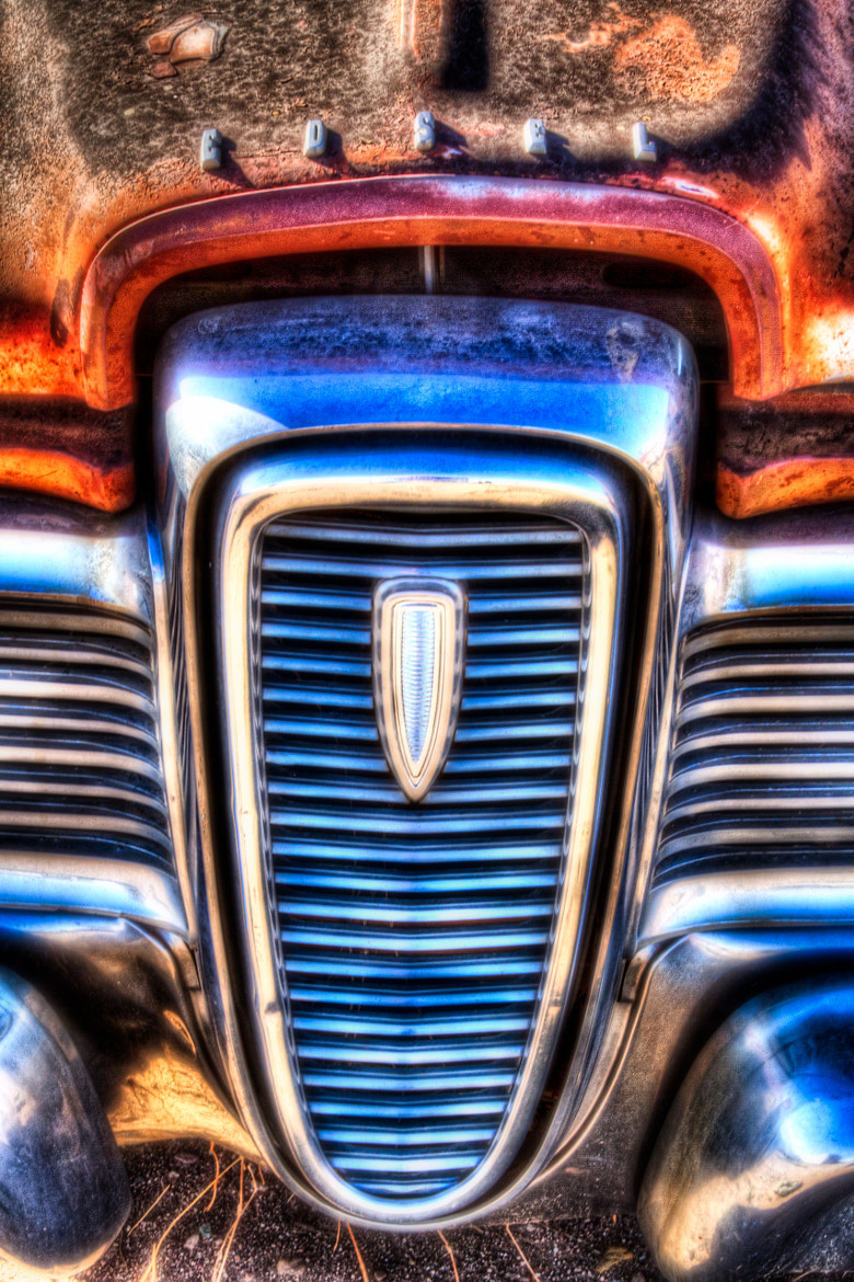 Photograph Edsel Center Grill by Duane Keeling on 500px