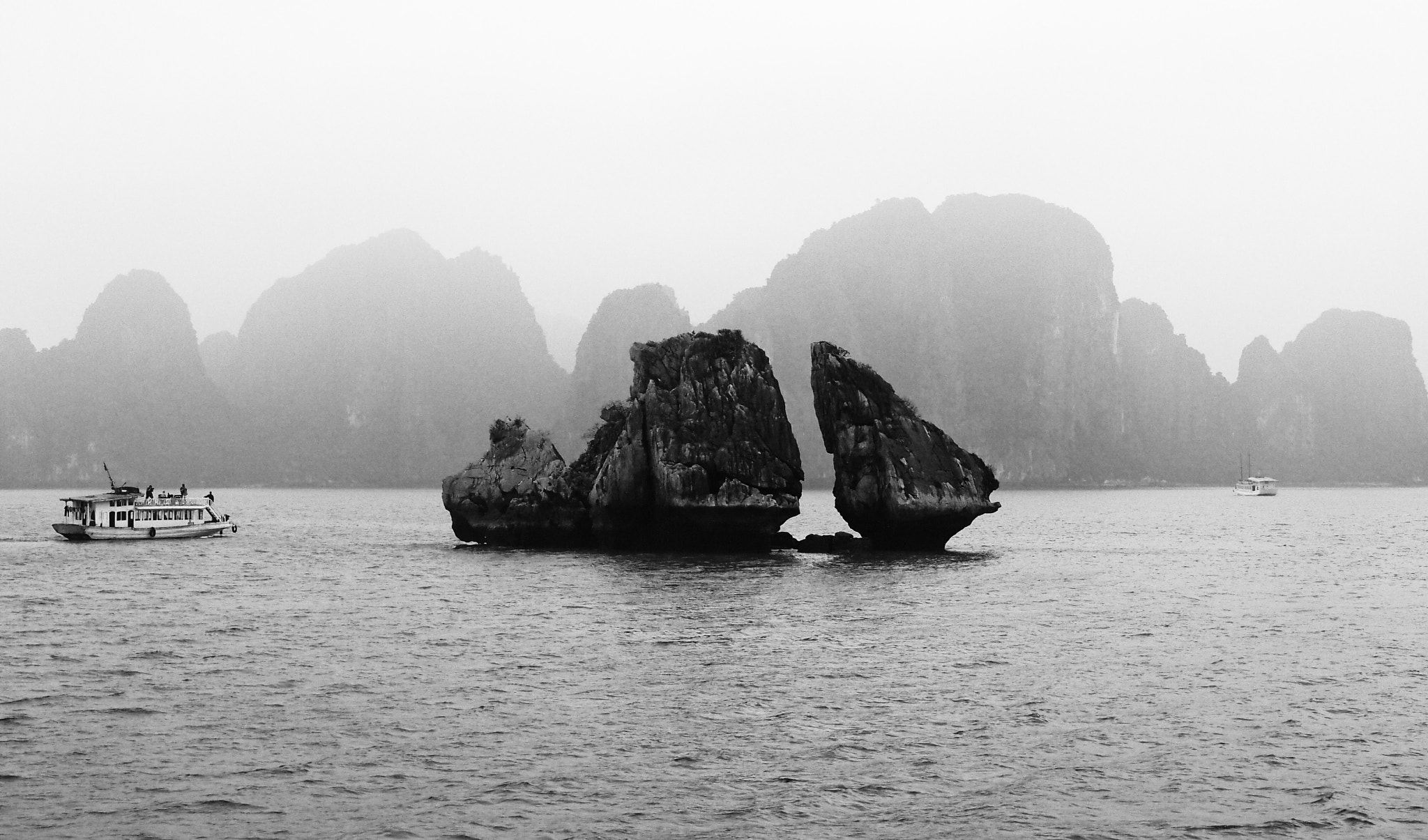 Photograph Winter Mist of Halong Bay by Jodie Taylor on 500px