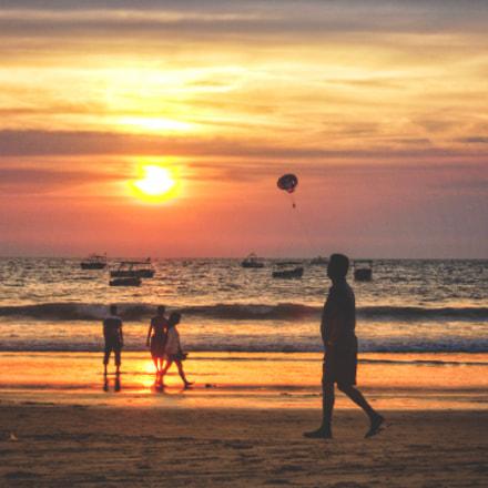 Cloudy Sunset, Nikon COOLPIX S2500