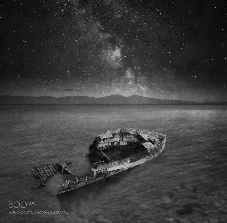 Photograph *** abandoned ship *** by Ömür Kahveci on 500px
