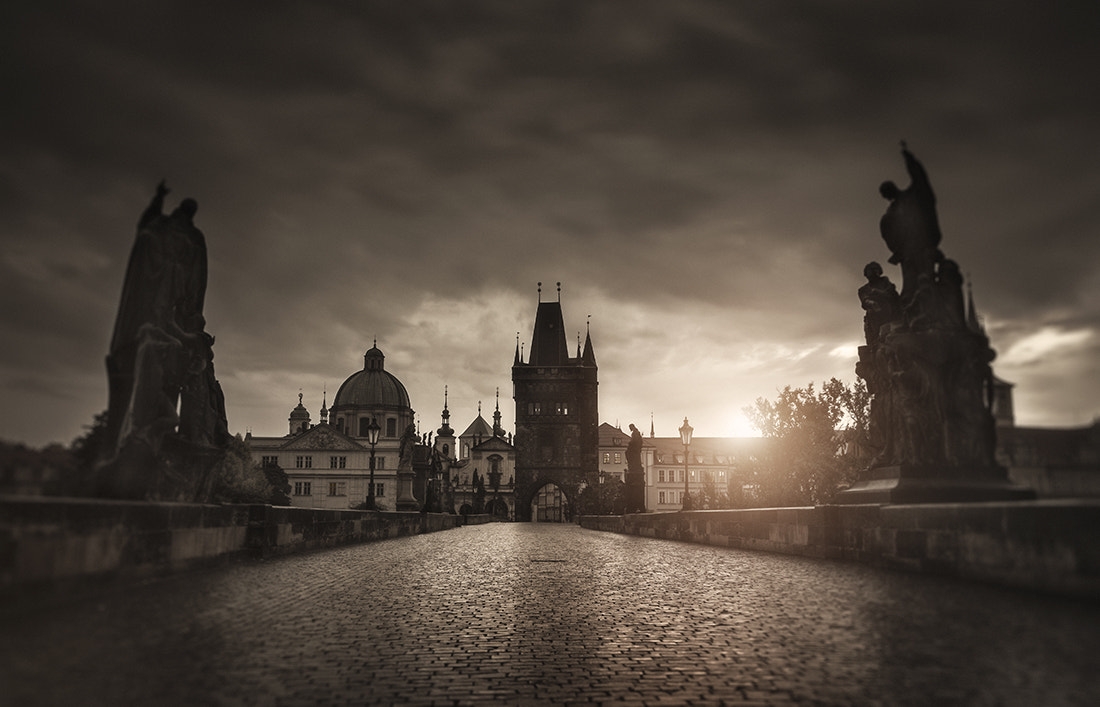 Photograph Sepia Prague by Alisdair Miller on 500px