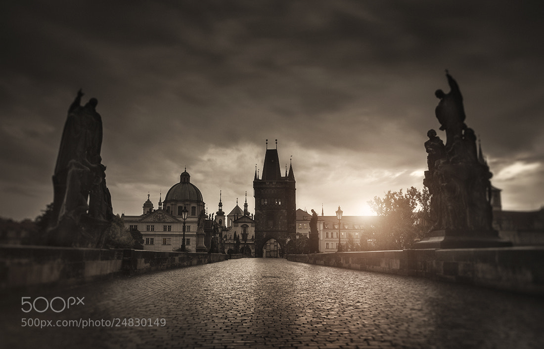 Photograph Sepia Prague by Alisdair Miller on 500px