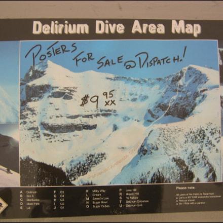 Delirium Dive, Canon DIGITAL IXUS V3