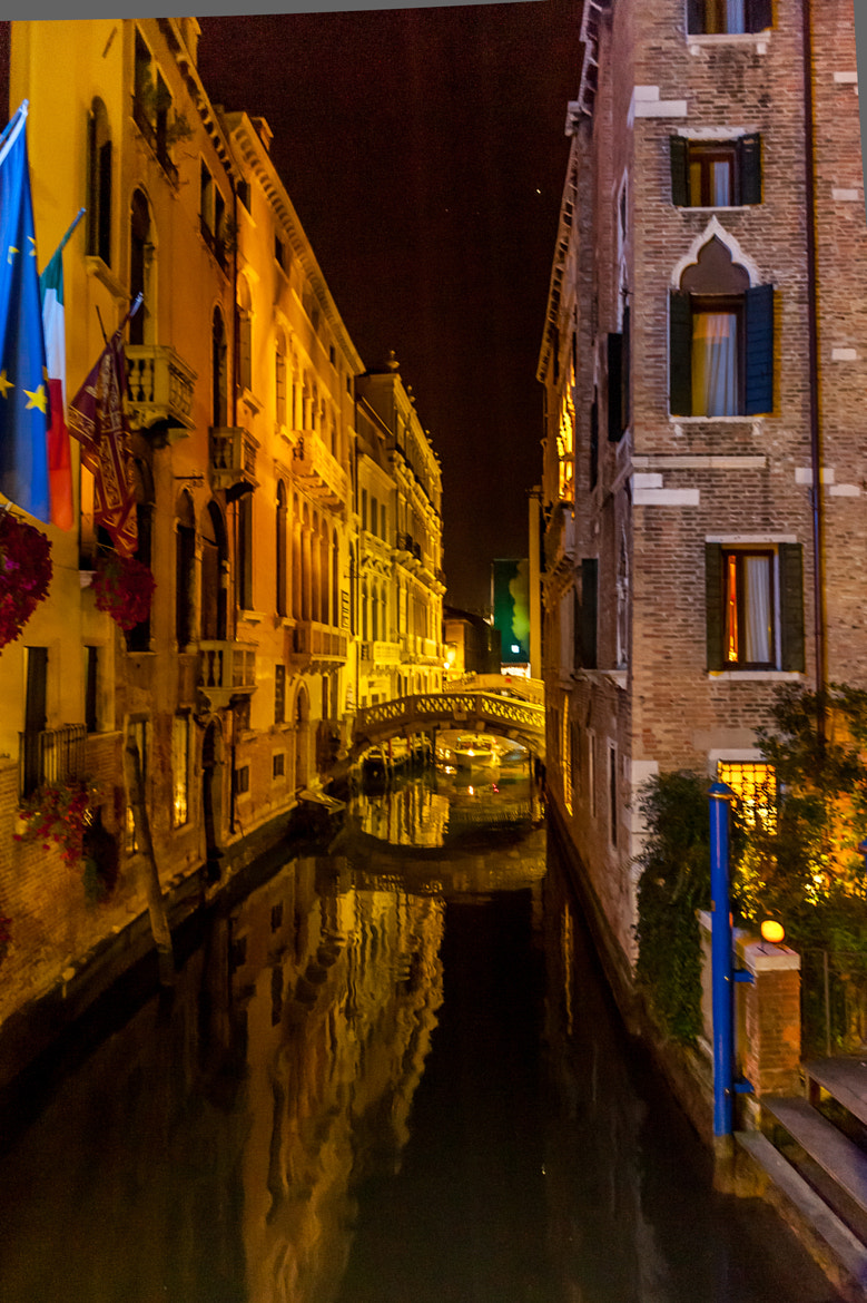 Photograph Nighttime in Venice by Mark Ellison on 500px