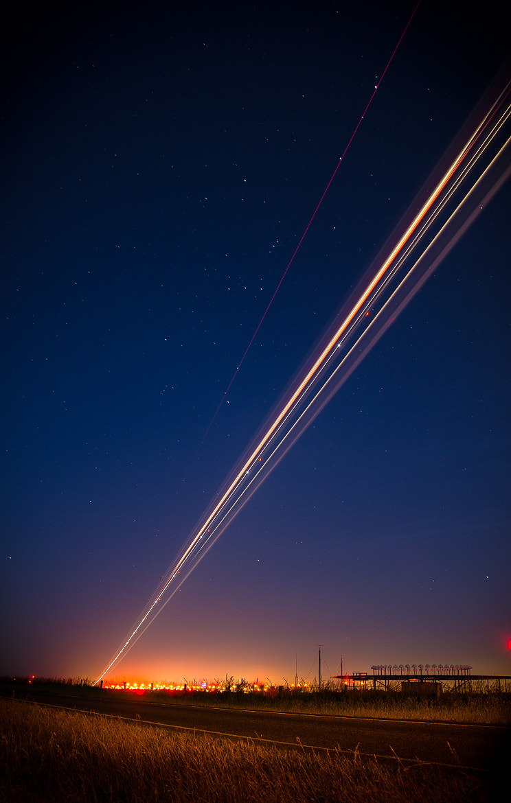 Photograph Night Landing by Paul Le Comte on 500px