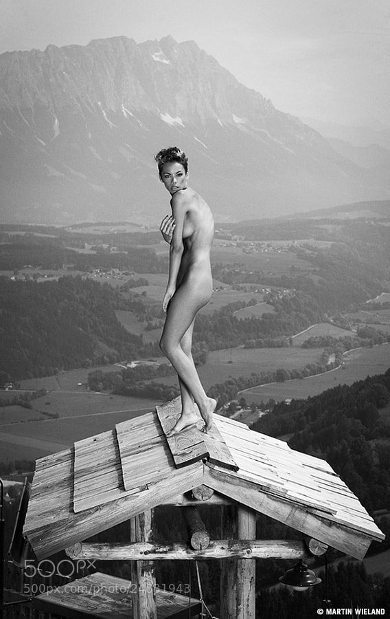 nude photo - Dorka 35 by Martin Wieland