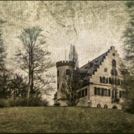 Castle Rosenau in gobelin style