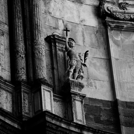 Cathedral of Cadiz detail, Sony DSC-H50