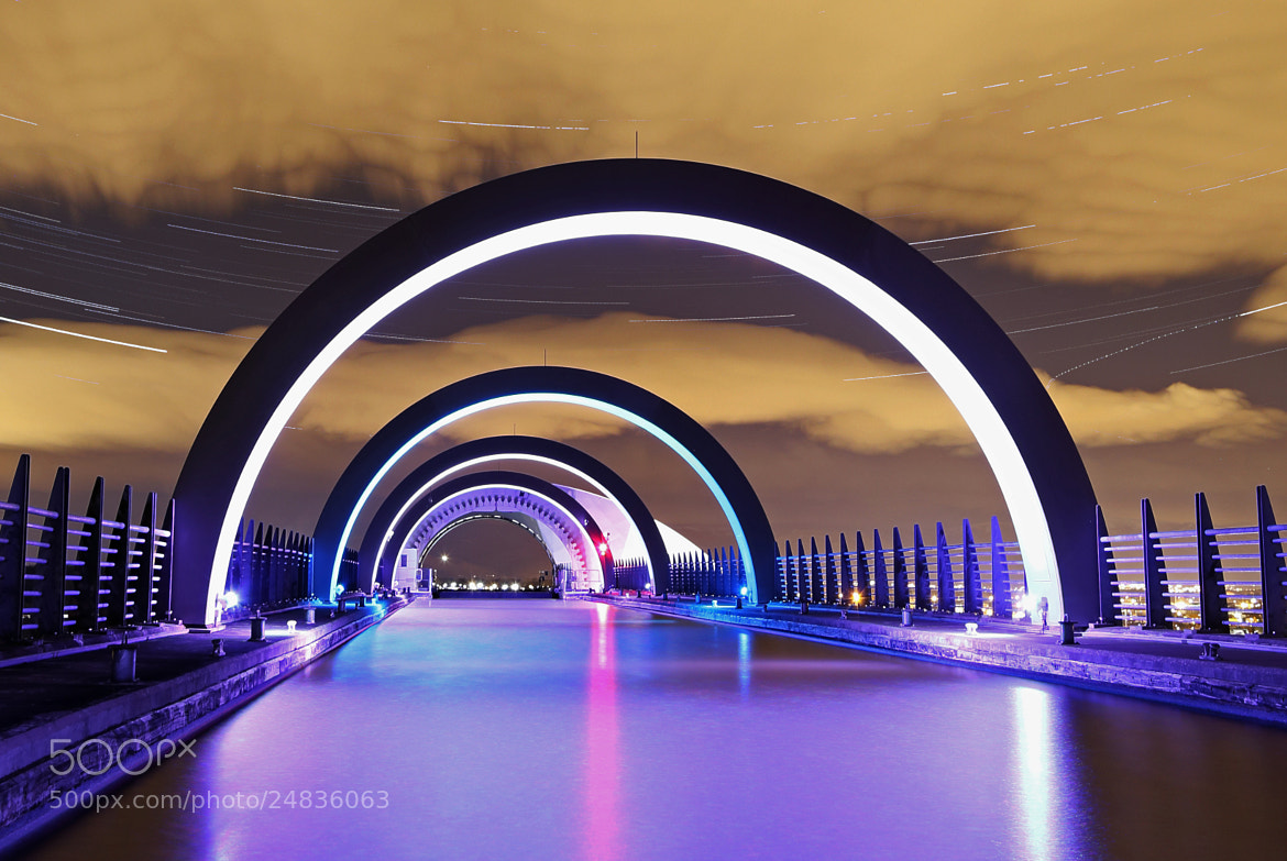 Photograph The Falkirk Wheel by Mike Smith on 500px