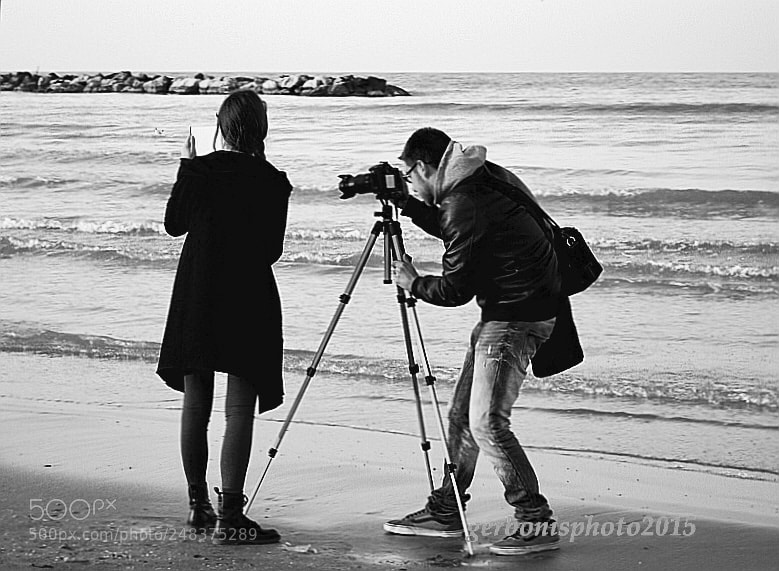 "Nikon COOLPIX S4150 sample photo. ""Shooting on the shore"" photography"