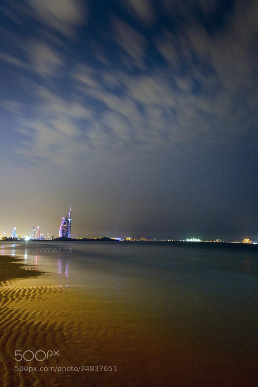 Photograph Burj Al Arab, Dubai by Artist Ummer Ta  on 500px