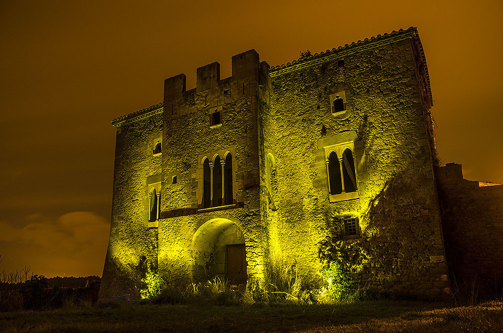 Photograph yellow castle by Albert Galì on 500px