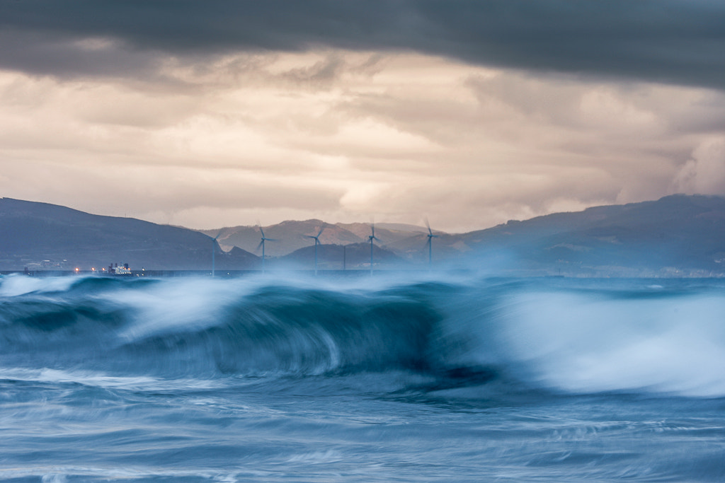 Photograph Rough sea by Sabin Merino on 500px