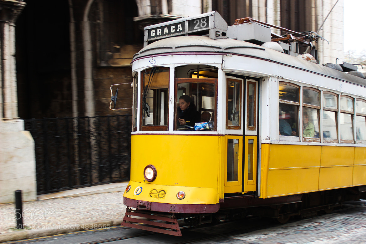 Photograph Tram 28 by Marie Kuhn on 500px