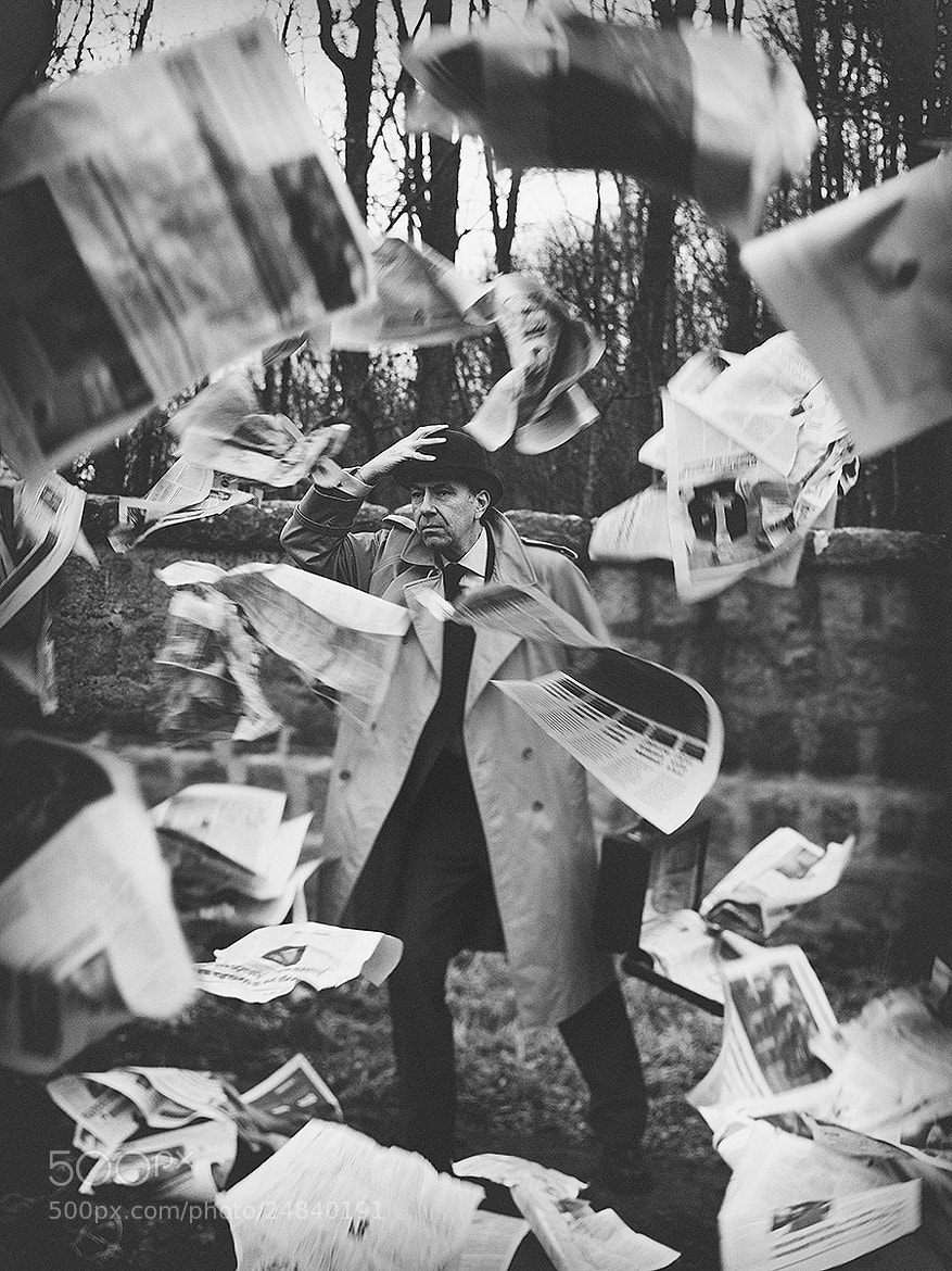 Photograph The serious man storm by Rebeca  Saray on 500px