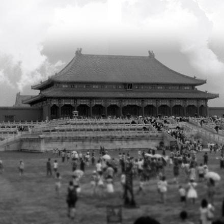 Forbidden City, Canon EOS KISS DIGITAL N