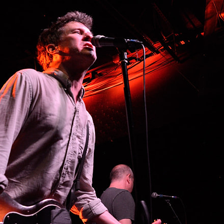 Superchunk live in Richmond, Nikon D7100, Sigma 28-105mm F2.8-4 Aspherical