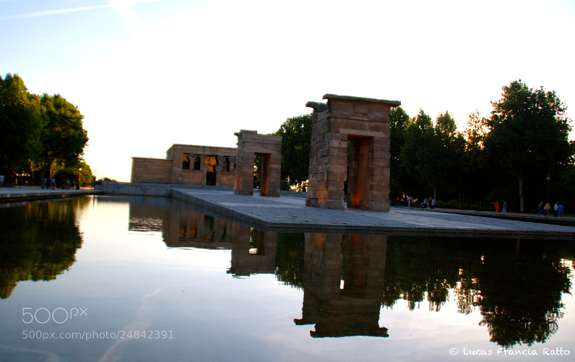 Photograph Templo de Debod by Lucas Francia on 500px