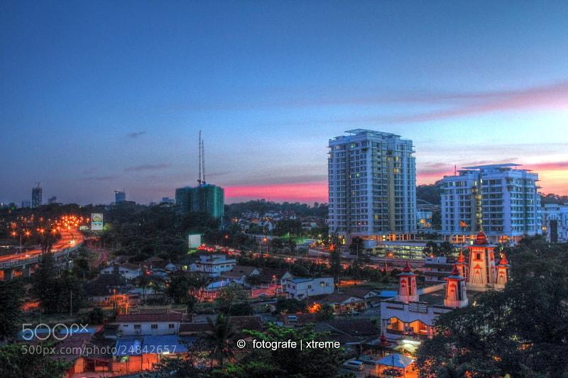 Photograph A Beautiful Dusk, Kuala Lumpur Malaysia by Sajjad Tufail on 500px