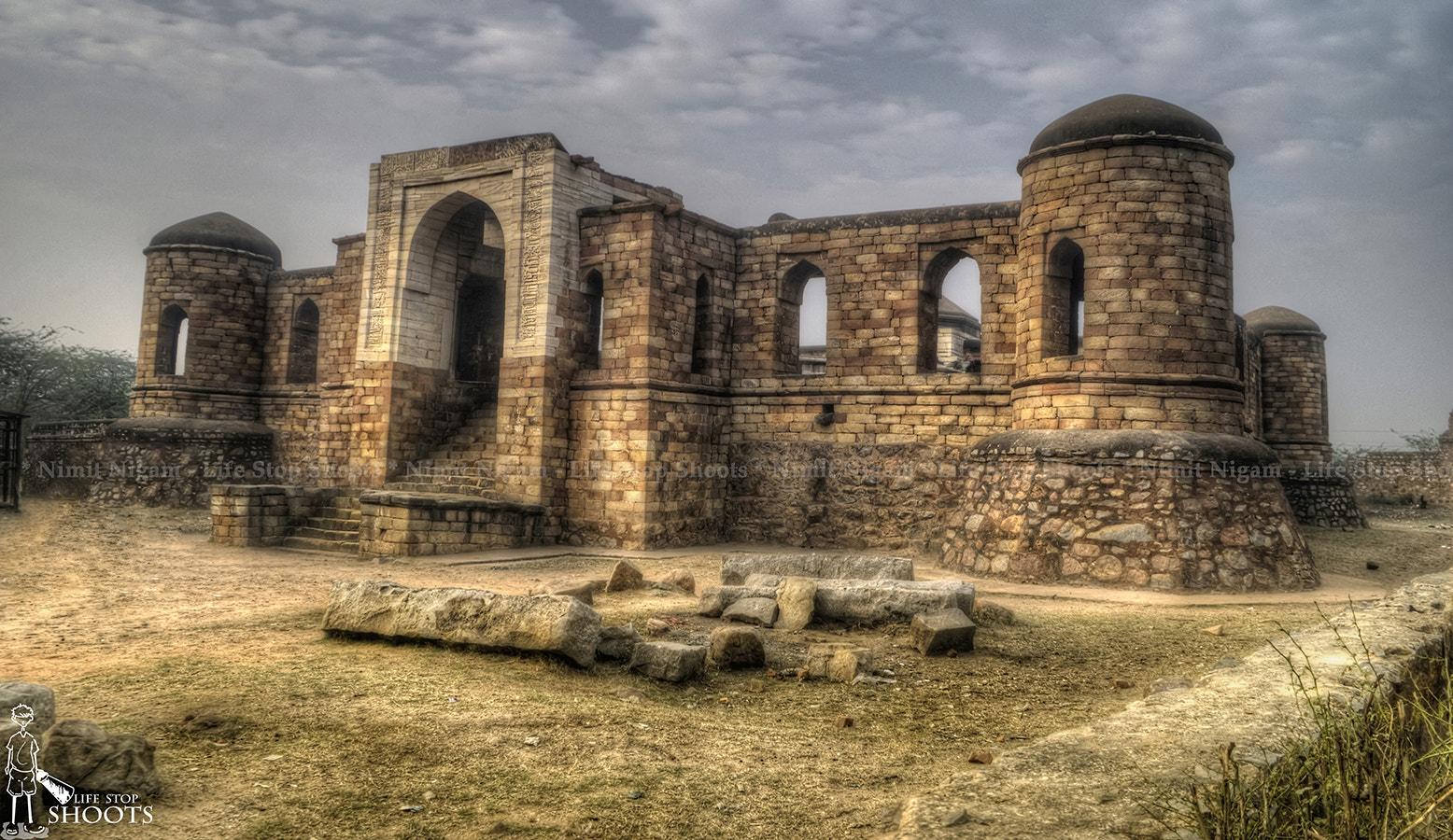 Photograph Sultan Garhi Tomb... by Nimit Nigam on 500px