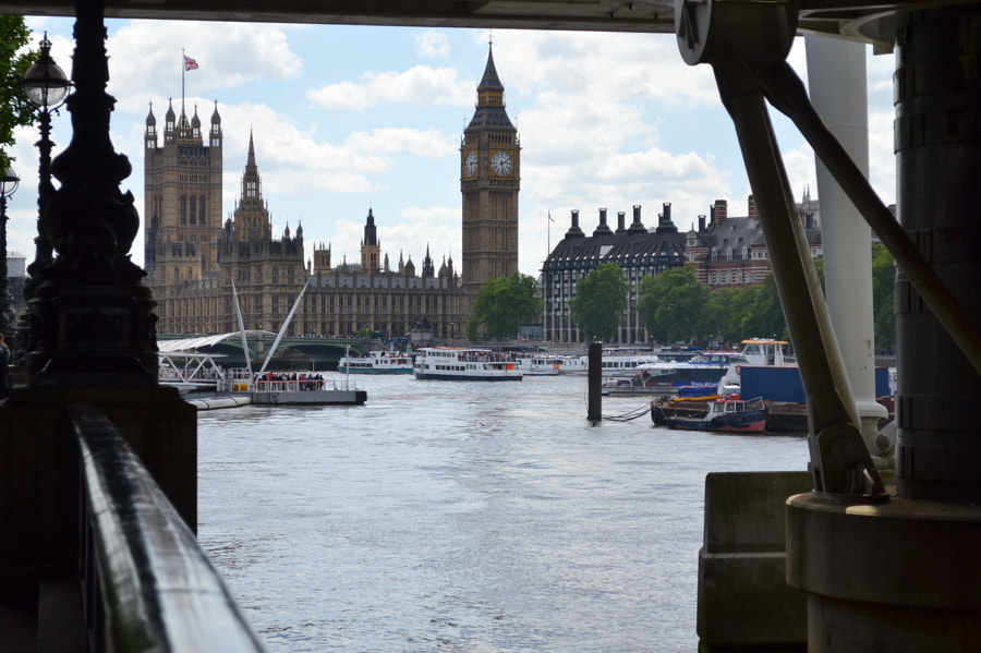 The Thames, London by Sandra  on 500px.com