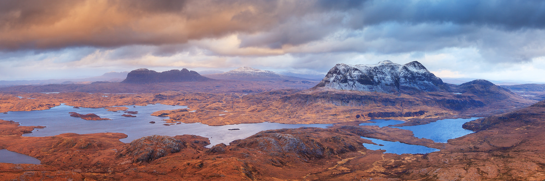 Photograph Suilven to Cul Mor by stephen sellman on 500px