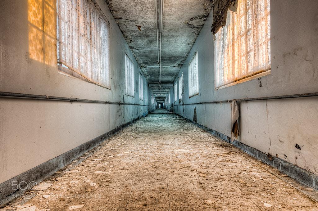 Photograph Cold Corridor by Jose  Vazquez on 500px