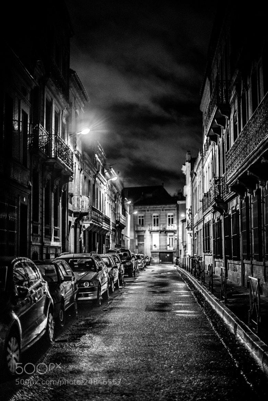 Photograph Dark Street by Sébastien Puissegur on 500px
